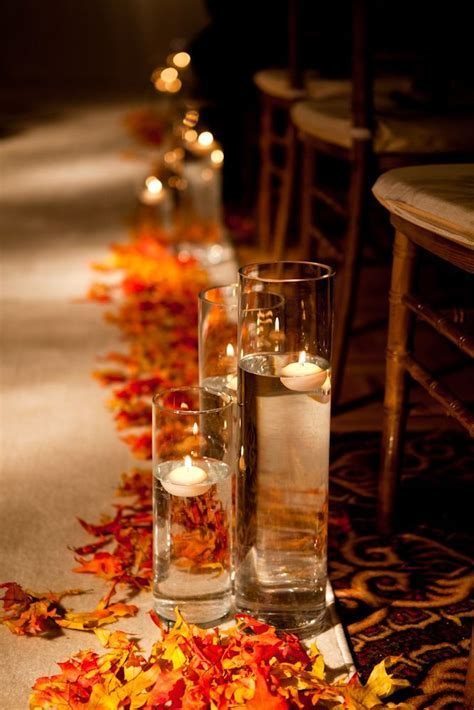 25  best ideas about Wedding Aisle Candles on Pinterest