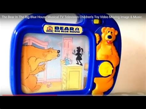 house tv music bear in the big blue house musical tv television children s toy video moving image