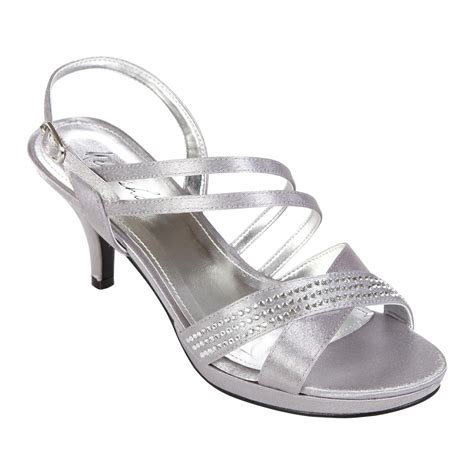 s silver dress shoe footwear at sears