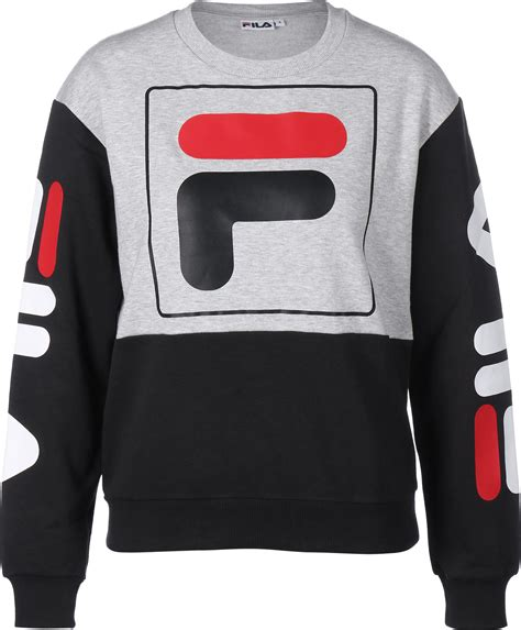 Sweater Fila Fila Date Crew W Sweater Grey