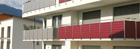 copri ringhiera balcone grande scelta di ringhiere in alluminio per balconi dal