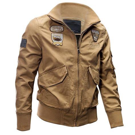 Jaket Bomber Army Parasut Barcelona airborne pilot cotton bomber jackets pilot store