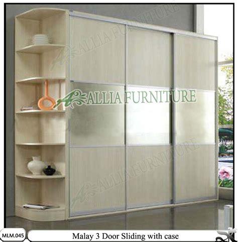 Lemari Pakaian Sliding Minimalis lemari pakaian 2 pintu dengan model minimalis dan modern