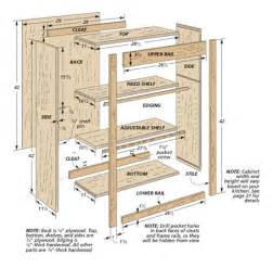 Kitchen Furniture Plans Custom Kitchen Cabinets Woodsmith Plans