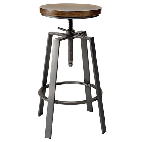 Bar Stools by Pine Wood Adjustable Bar Stool Bar Stool Stools And Pine