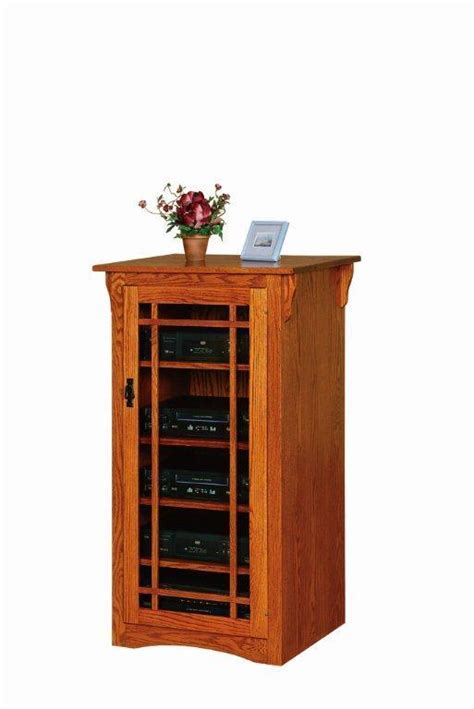 Amish Arts and Crafts Stereo Cabinet