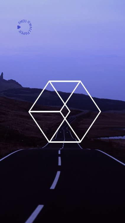 exo lockscreen exo logo lockscreen tumblr