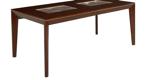 vallejo cherry dining table rectangle contemporary