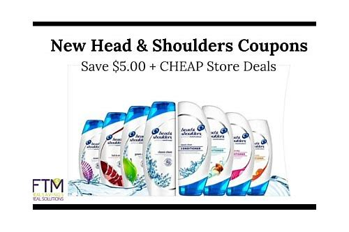head & shoulder coupons