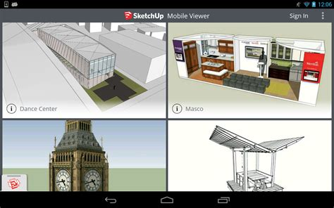sketchup for android sketchup mobile viewer android apps on play