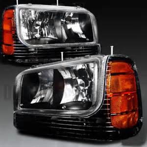2000 Cadillac Headlight Cadillac Escalade 1999 2000 Black Headlights And Corner