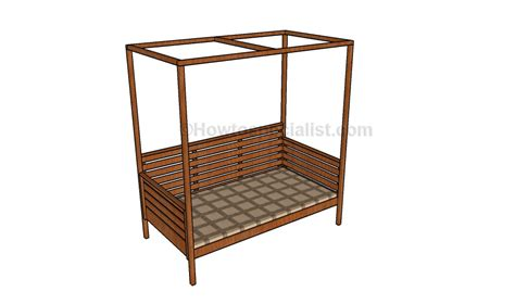 daybed plans outdoor daybed plans howtospecialist how to build