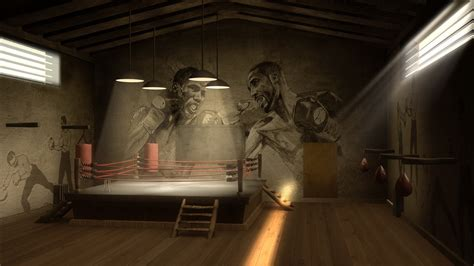 Full Wall Murals boxing gym wallpaper wallpapersafari