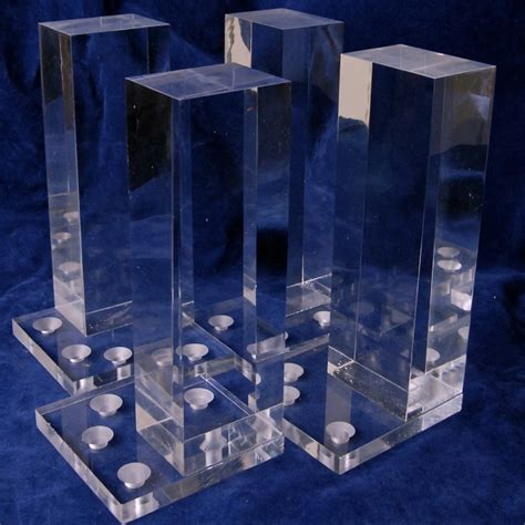 acrylic table legs custom clear acrylic lucite furniture legs table legs