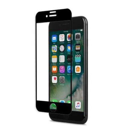 Moshi Ionglass For Iphone X Black 99mo096005 moshi ionglass iphone 7 glass screen protector black reviews mobilezap australia