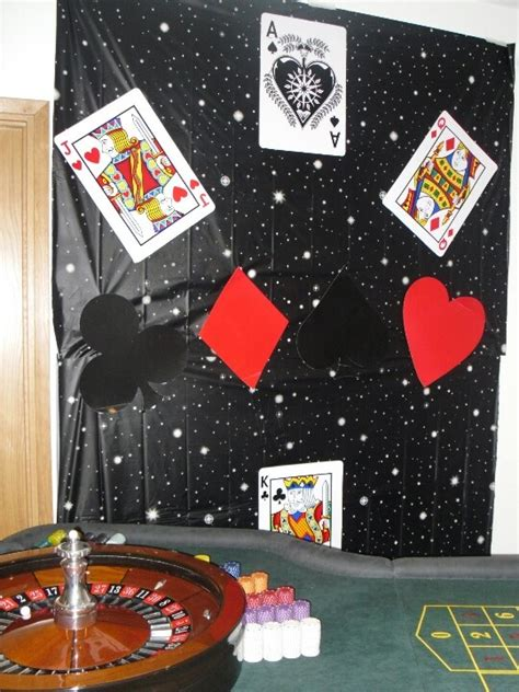 card themed decorations 156 best images about bond casino themed on