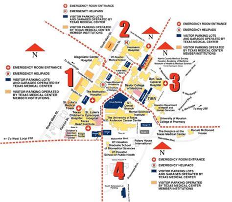 houston hospitals map houston methodist hospital map swimnova