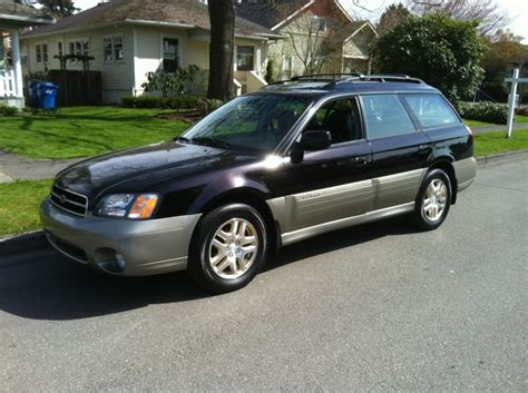 Subaru Outback 2001 by 2001 Subaru Outback Limited In Black Awd Auto Sales