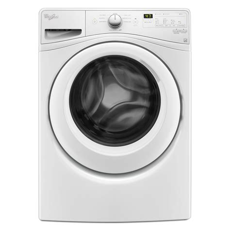 whirlpool wfw75hefw 4 5 cu ft front load washer white