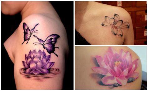 tatuajes de flor de loto dise 241 os ideas y significados