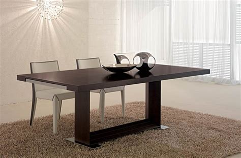 modern dining table home garden design