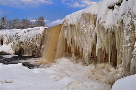 frozen waterfalls frozen waterfall