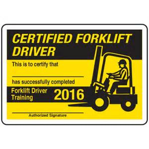 forklift certification card template forklift certification wallet card template pictures to