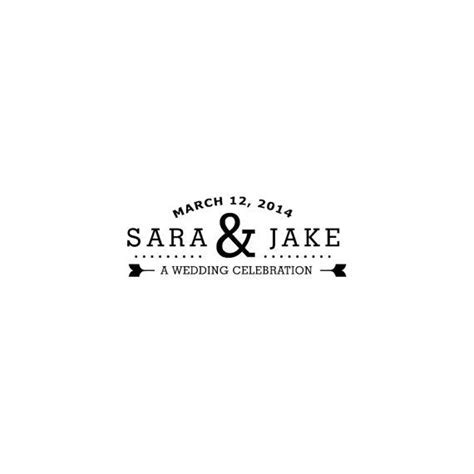 """Perfect composition   wedding logo   """"You're invited"""