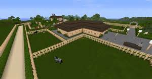 Horse Barn Designs minecraft pferdehof map v 1 0 maps mod f 252 r minecraft