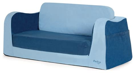little kids couch little sofa sleeper blue contemporary kids sofas by