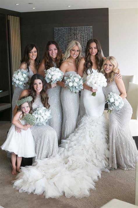 silver coloured wedding ideas silver wedding chwv