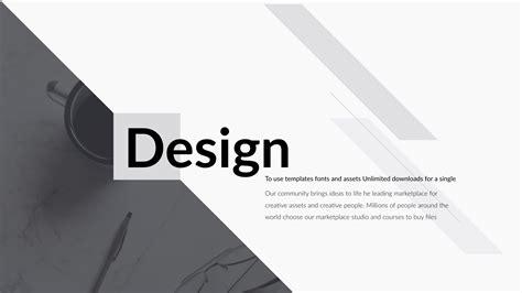 Design Clean Creative Powerpoint Presentation By 5yue Clean Presentation Design