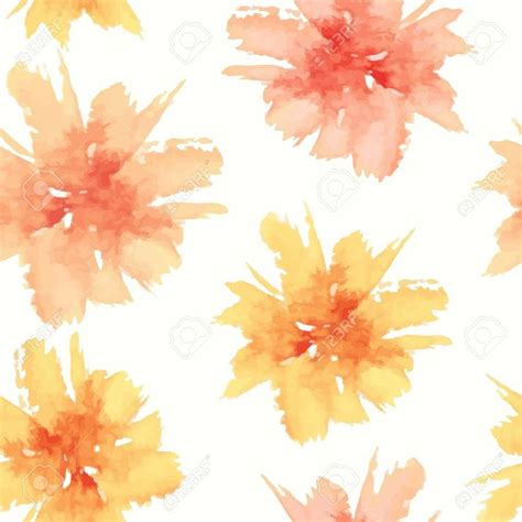 yellow watercolor pattern 46 best watercolour images on pinterest flowers