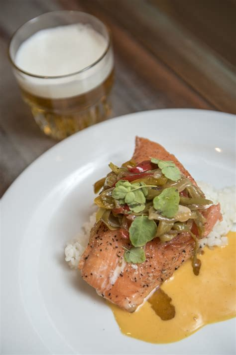 ca craft beer dinner  menu release california