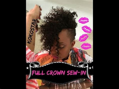 crown for weaves new weave alert crazy curly crown full weave sew in