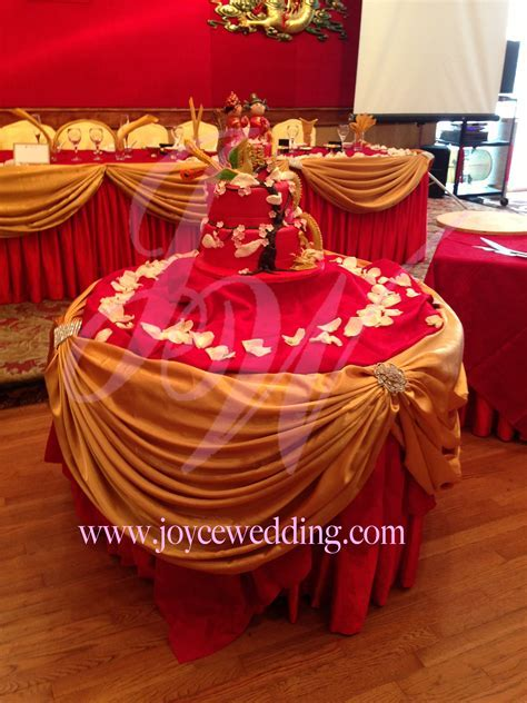 #Red and #Gold #Wedding #Decoration   Joyce Wedding Services