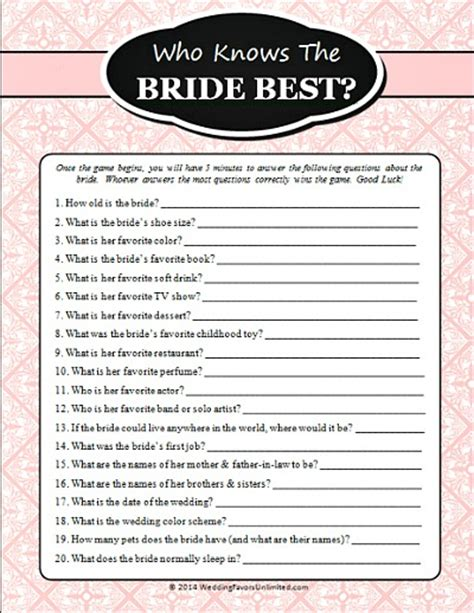 printable bridal shower games for free 10 free printable bridal shower games page 2