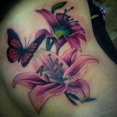 purple lily tattoo designs 32 tattoos designs