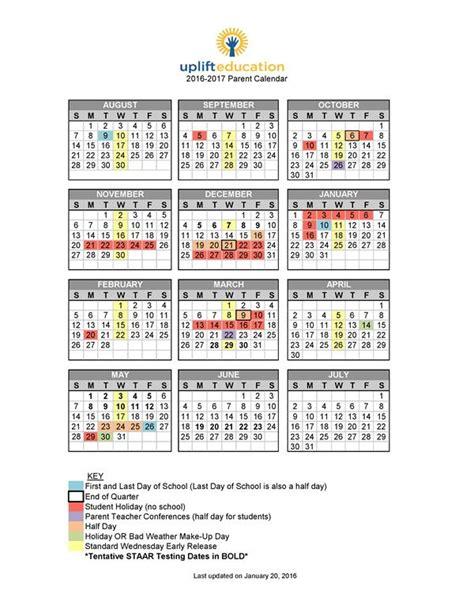 Parent Calendar Uplift Mighty Homepage