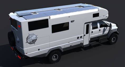 Bathroom Floor Plan Grid earthroamer xv hd bigger badder off road camper