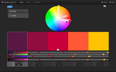 adobe color palette meilleurs g 233 n 233 rateurs de palette de couleur codes