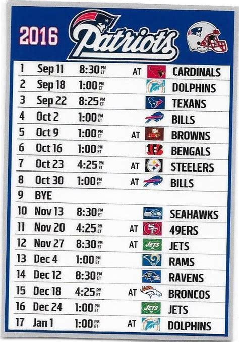 printable schedule for new england patriots new england patriots schedule music search engine at