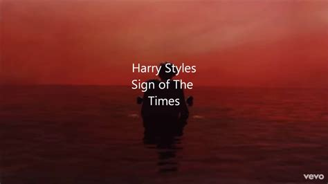 A Sign Of The Times harry styles sign of the times official lyric