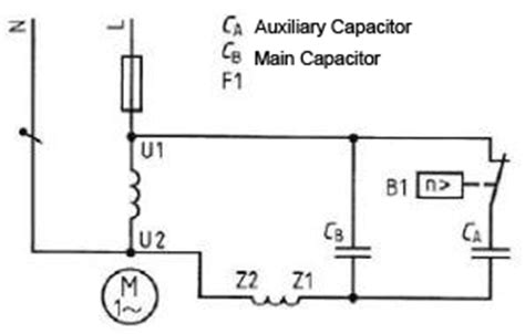 function of capacitor in motor electrical machine capacitor motor