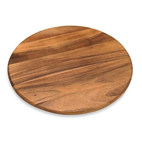 18 inch wood table top lipper international 18 inch acacia wood lazy susan bed