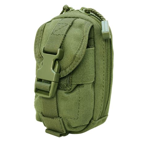 Green Pouch tactical molle pouch ipouch iphone blackberry