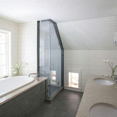 small attic bathroom sloped ceiling bathroom sloped roof design bathrooms pinterest