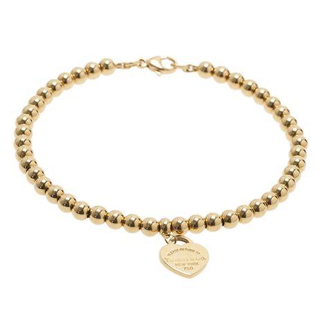gold bead bracelet co return to mini tag 1yellow