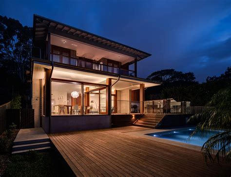 pool house designs australia australian home with spotted gum wood details and pool modern house designs