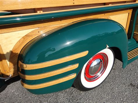 1950 chevrolet 3100 custom woody retro wheel vd
